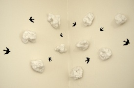 Cloud 9 (crocheted clouds)