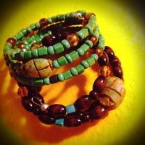 Snake Charmer Bracelets (detail)